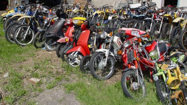 Salvage Motorcycles
