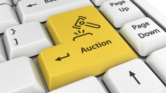 auction keyboard