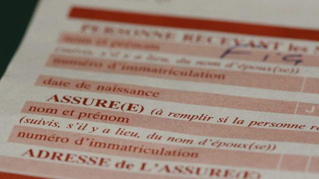 Insurance French Certificate