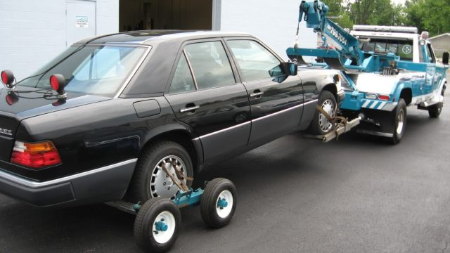 Repo Car On Towtruck