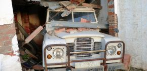 The Ultimate Project Found Among Salvage Cars for Sale