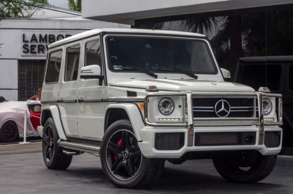 2014 Mercedes-Benz G63 AMG White