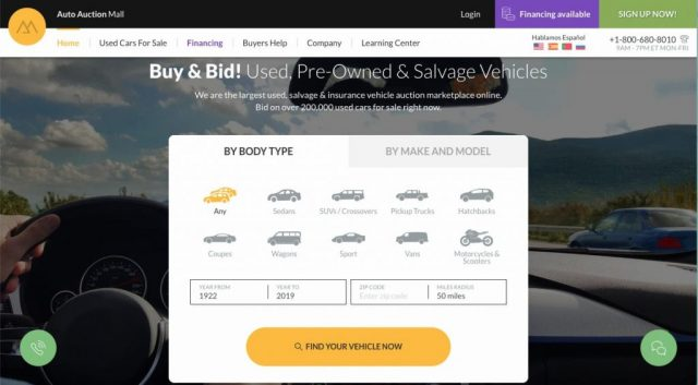 Your Guide To Buy Used Cars On An Online Auto Auction Site Auto Auction Mall